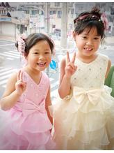 【花凛】かわいいkidsセット 卒園式.55