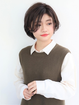 [K-two Esola 池袋]スタイリング簡単☆大人かわいい小顔ショート