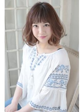 【STELLA TOKYO】ワンカールパーマ×大人ボブ◎小顔★渋谷