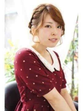 キレかわいいシンプル編み込みヘア 【&*again】