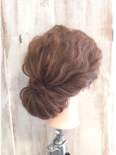 【AnFyeforprco】大人かわいいギブソンタック♪ 盛り髪.34