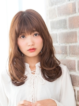 モテ髪ゆるふわセミディ.44