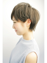 ツヤ感! 大人 かわいいショートヘア.48