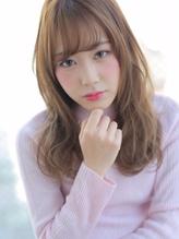 ☆重軽感×ゆるウェーブが◎なガーリーセミロング☆.5