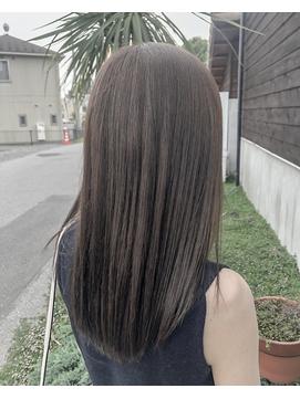 マットグレージュ×髪質改善トリートメント