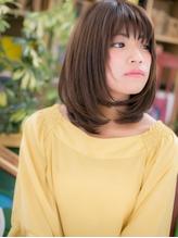 *+COVER HAIR+*…重めがカワイイ♪ワンカールミディa くびれカール.36