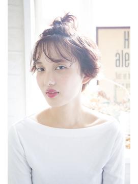 [Garland/表参道]☆透け前髪うるっと質感アレンジ☆