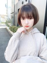 【東 純平】大人かわいい小顔丸みショートボブ.39