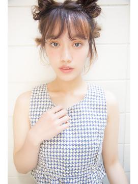 [Garland/表参道]☆透けバングカジュアルルーズなまとめ髪☆