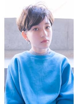【kate 大宮】ショートマッシュ×モカブラウン
