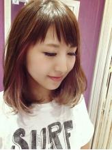 カラーのみOK!【リタッチカラー¥3500/フルカラー¥4000】《ダメージレスでツヤ感UP!》上品な髪色に…♪