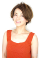 Soleil菊地/ドレスネイビーフレンチボブマニッシュショートヘア
