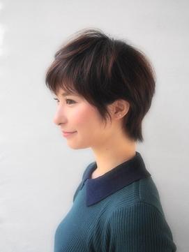 【miike】斜め前髪マッシュショート