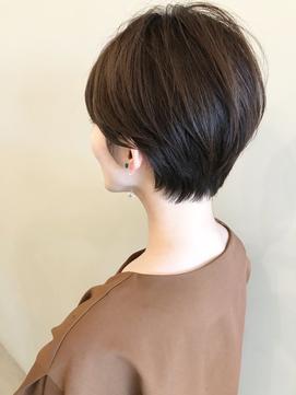 【nous】前髪あり×ショート/首が綺麗に見えるショート【天神】