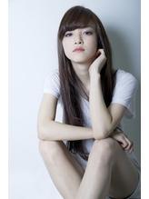 【ルーズ グラマラス モード】つるサラ黒髪ロングなストレート 梅雨.19