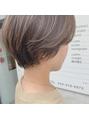 【HONEY 有賀】ハイライト×ハンサムショート