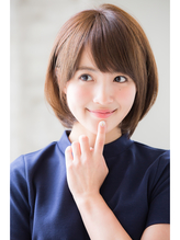 【joemi】ふんわりスッキリ小顔ショートボブスタイル(小倉太郎) .48