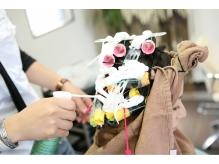 irisオリジナルスチームパーマで髪に保水力と艶かで輝かしい髪に