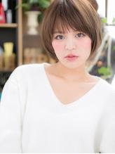 *+COVER HAIR+*…自然体の魅力♪万能ショートボブa 小頭.40