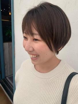 笑顔になるショート【third 表参道】