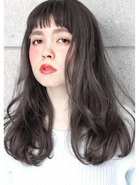 ☆ グレージュ & オン眉 ☆ 外国人風ナチュラルウェーブ ☆
