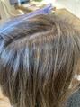 #白髪をぼかすハイライト#細ーいハイライト#白髪染め