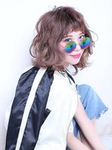 ミディアム愛されパーマヘア【LUXBE江坂店】 .33