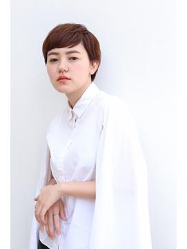 【yuka】ナチュラルベリーショートスタイル