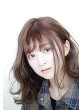 【似合わせ小顔効果】ウェービーボブ_フォギーベージュ.12