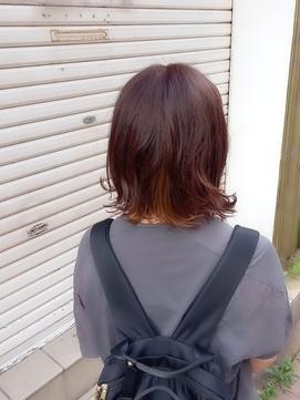 hair sos ベージュ&ブルーアッシュ
