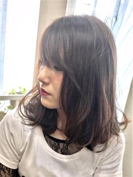 【コトノハ】大人ガーリー毛先パーマストカールモテ髪大人可愛い