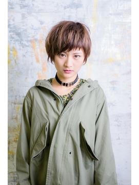 前髪短めマッシュショート【sola:neolive 相模大野店】