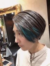 鮮やかなブルーのポイントカラー.3