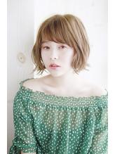 【Lucy高田馬場】外国人風エアリーミニマムボブ.23
