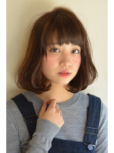【polifish 外門】ナチュラル×カールボブ.51