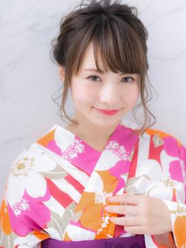 *LOREN*花火大会、お祭りに◎浴衣に似合う愛されヘアアレンジ