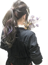 【nike池袋】ブリーチ2回onカラー☆アレンジ☆.24
