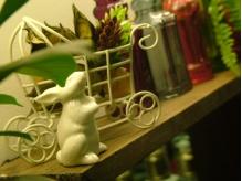 ◆店内オブジェ◆ちょっとした小物にもこだわりがあります☆