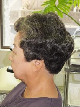 シニアヘアスタイル