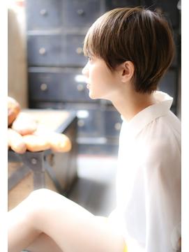 【+~ing】高円寺耳掛けコンパクト丸みショート【畠山竜哉】