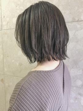 【emis】20代30代レイヤーボブ レイヤーカット 透明感カラー人気