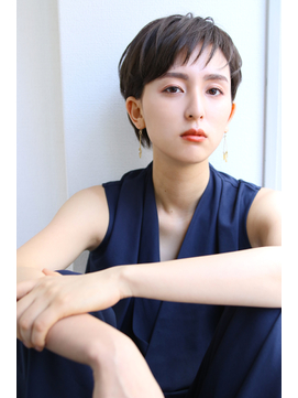 【ROSE/新大宮】耳かけショート/マッシュヘア/くせ毛ショート