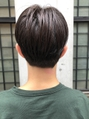 【December】men's ソフトツーブロック センターパート