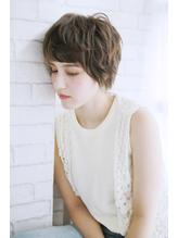 美髪デジタルパーマ/バレイヤージュノーブル/クラシカルロブ/927 シュシュ.53