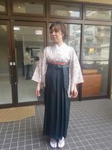 卒業式袴スタイル~とゆるゆるヘアセット.47