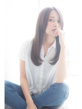 エフォートレス ワンカール センターパート【Aman hair 吉祥寺】