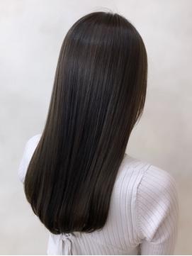 【Euphoria山村】髪質改善ストレートで理想のロングヘアに☆銀座