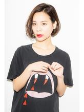 【Euphoria】☆ルーズパーマ×ノーバング☆ショートボブ 前髪パーマ.37