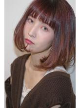 【CUFFA】無造作カールデザインカラー大人ボブ東銀座築地新富町.54