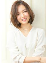 『rue京都』大人可愛い☆小顔ナチュラルボブ .26